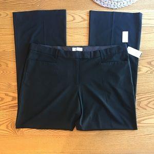 GAP black modern fit bootcut trouser 20R